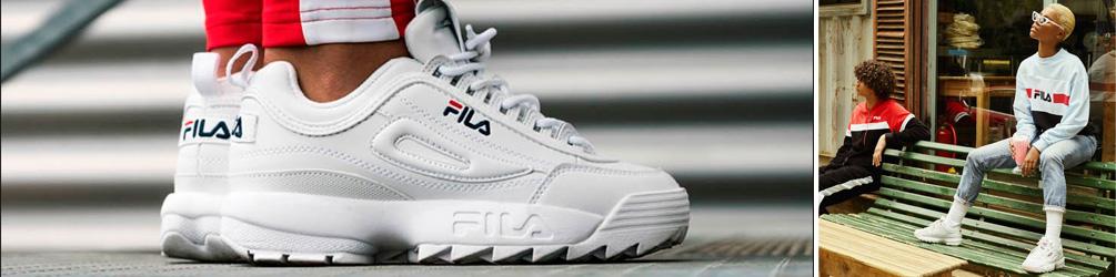 ropa deportiva, street wear y urbana de la marca Fila