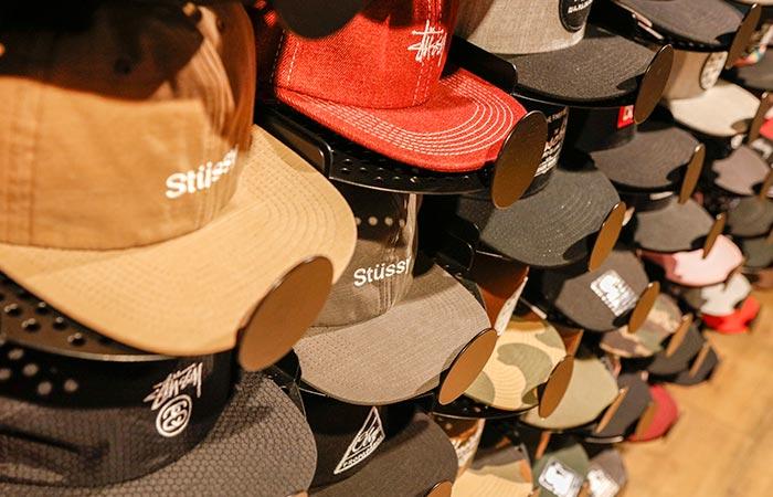 gorras de marca, muchos modelos